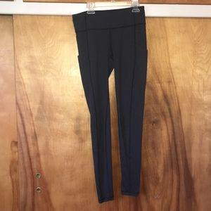 dark gray lucy workout leggings
